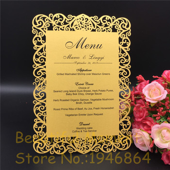 12x17cm Laser Cut Love Table Place Card Wedding party menu card Wedding Favor Party Decoration diy Guest Place Cards 20 pcs/lot 120pcs lot laser cut humming bird shaped table name place card escort card wine glass card wedding baby shower decoration wd108