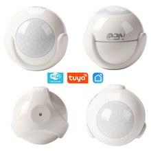NEO COOLCAM Sensor de movimiento PIR inteligente WiFi, Detector de cuerpo humano, sistema de alarma de casa, Sensor PIR de movimiento inteligente, Tuya Smart Life
