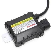 1 шт. тонкий 35 Вт Универсальный HID цифровой конверсионный балласт комплект 12 В для H1 H7 9006 ксеноновые фары