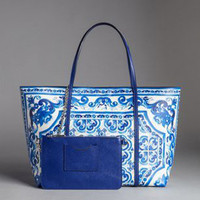 Luxury Italy Brand Ethnic Genuine Leather Shopper Tote Handbag Famous Designer Flower Painted Shoulder Bag bags for women 2018