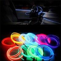 10 colores 44,48 pulgadas novedad iluminación coche decoración tiras de luz fría Cadena de luz para decoración de signos decoración del hogar