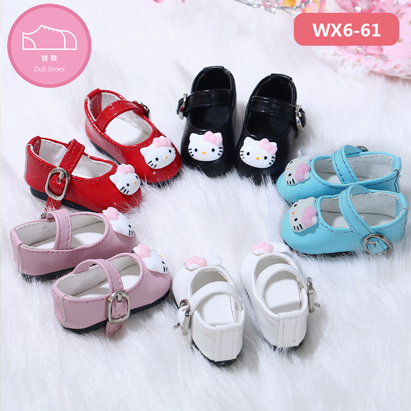 <font><b>1/6</b></font> BJD <font><b>Shoes</b></font> for Littlefee&Napi <font><b>doll</b></font> body Cat Lovely Style fashion <font><b>Doll</b></font> Accessories PU material image