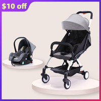 High Quality Baby Stroller 3 in 1 Safe Comfortable Infant Strollers High Landview Baby Pram Bebe Pushchair Plus 2020 Hot Gifts