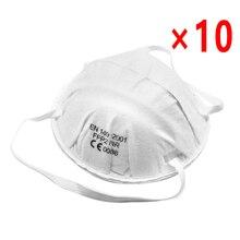10pcs Anti-fog headband FFP2 FFP3 N95 grade round mask non-woven Dust Mask Anti PM2.5 Anti influenza Breathing Bicycle Ridin