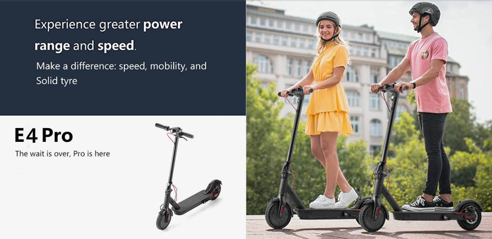 iScooter Electric Scooter Smart Folding Adult Electric Scooter Electric Skateboard With LED light 2 Wheels Free shipping No Tax