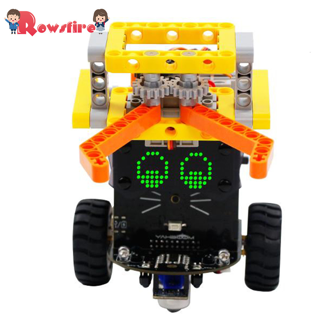 High Quality 1 Set Fighting Version Omibox Scratch Programmable Robot Car Kit