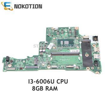 NOKOTION-placa base para ordenador portátil Acer aspire A315 A315-51, DA0ZAVMB8G0, NBGNP1100A, SR2UW,...