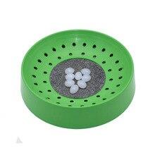 Pet-Toys Nest Pigeon-Supplies Breeding Bird Parrot Plastic 10pcs Bowl-Mat Egg-Basin Dehumidification