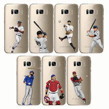 soft silicone phone cases baseball cartoon Bryce Harper cover Capinha Coque fundas capa for Samsung C8 C9 C7 S8 S9 S10 plus