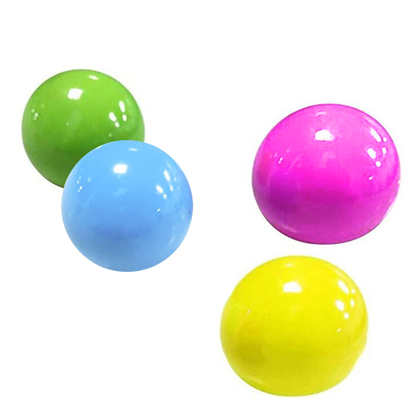 Sensory Toys Sticky Ball Squishy Globbles Ceiling-Ball Anti-Stress Glow Pit for Kid -K img1