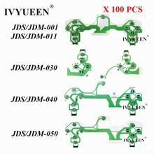 IVYUEEN 100 PCS Conductive Film for PS4 Dualshock 4 Pro Slim Controller Buttons Ribbon Circuit Board JDS 001/011/030/040/050