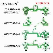 IVYUEEN 100 PCS Condutora Film para PS4 4 Pro Slim Controlador Dualshock Botões Placa de Circuito Fita JDS 001/011/ 030/040/050