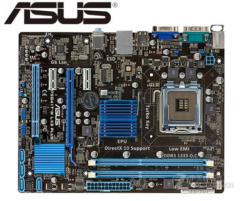 Asus P5G41T-M LX3 Plus Desktop Motherboard For Intel G41 Socket LGA 775 Q8200 Q8300 DDR3 8G Mainboard PC