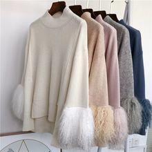 От известного бренда женские свитера с натуральной овечьей шерстью