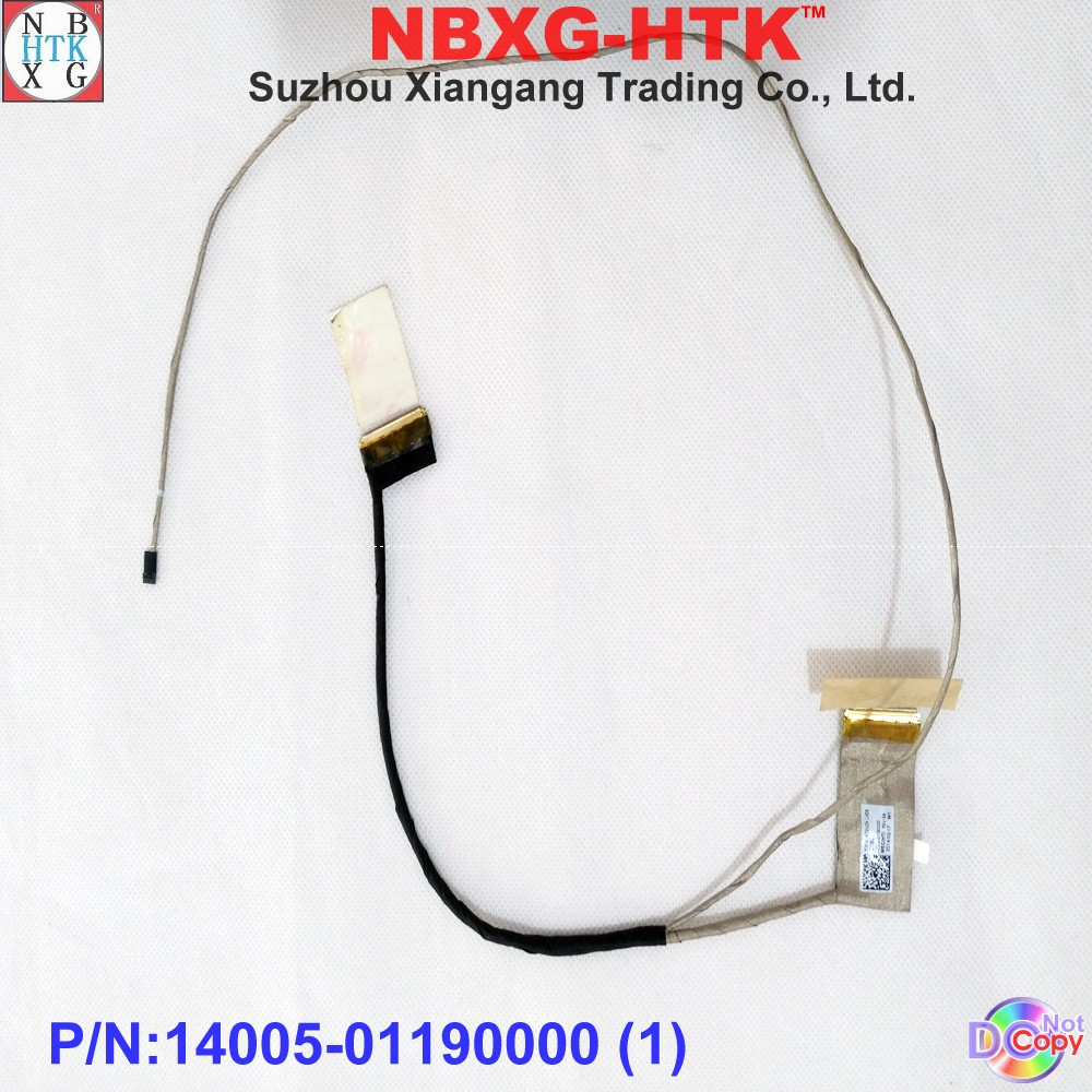 Computer Cables Laptop Cable for ASUS X553MA F553M X553S X553SA X553M with Touch 40Pin,with mic PN 1422-01VR0AS Cable Length: As Photo Show