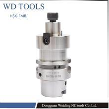 HSK63A-FMB16-50  precision shank, HSK shank, CNC plane, milling shank HSK face mill holder цены