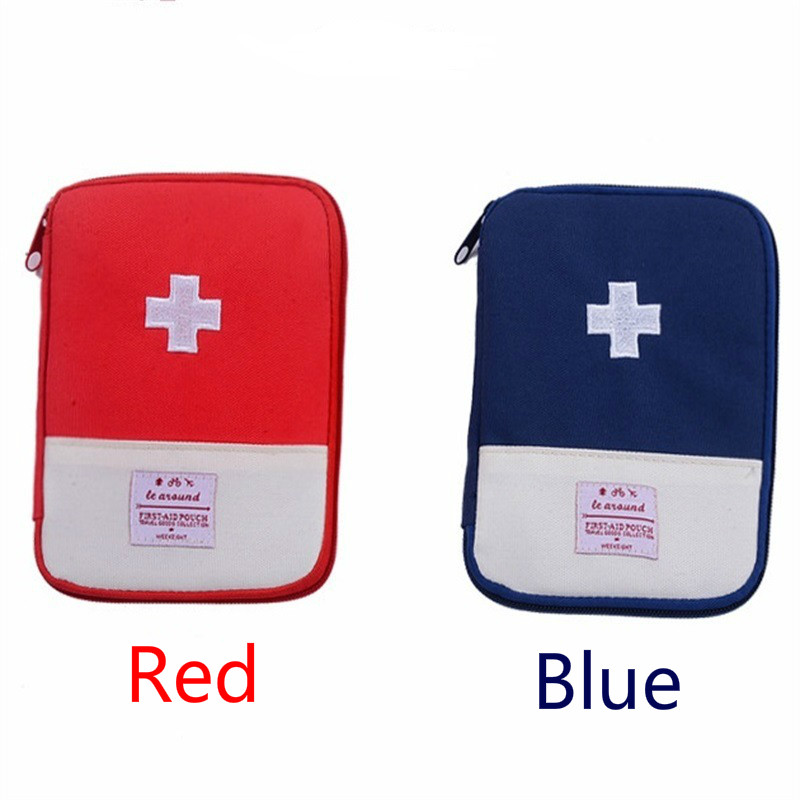 Mini First Aid Kit Bag Outdoor Travel Medicine Package Emergency Kit Bags Small Medicine Divider Storage Organizer Hot