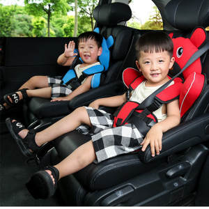 Car-Seat-Cushion Child Heightening-Pad Baby-Seat-Belt Non-Car 0-12-Years-Old Portable