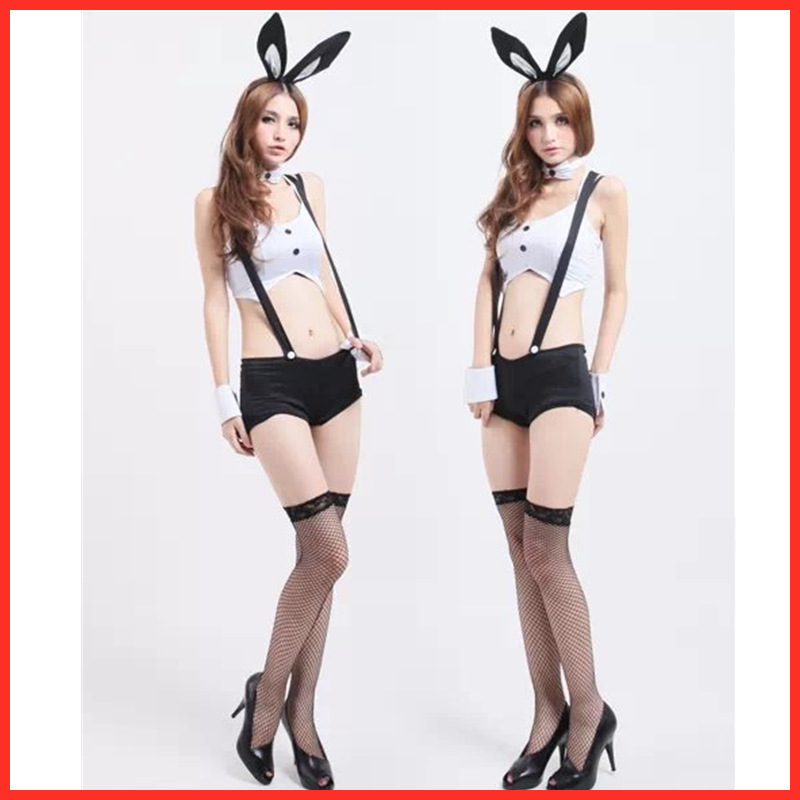 JIMIKO woman <font><b>sexy</b></font> <font><b>Halloween</b></font> bunny girl cosplay costumes <font><b>sexy</b></font> <font><b>Lingerie</b></font> bunny costume erotic uniform <font><b>Lingerie</b></font> Christmas bar party image
