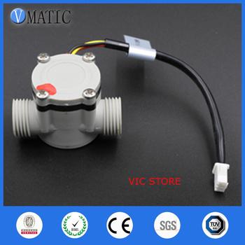 Darmowa wysyłka G1 2 rozmiar Hall przełącznik przepływu czujnik przepływu wody VC168 220v magnetyczny czujnik przepływu wody tanie i dobre opinie VMATIC VC168b Plastic