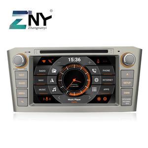 Image 1 - Radio con GPS para coche, Radio con DVD, Android 10, 7 pulgadas, navegador, RDS, unidad central de Audio y vídeo, para Avensis T25, 2003, 2004, 2005, 2006, 2007, 2008