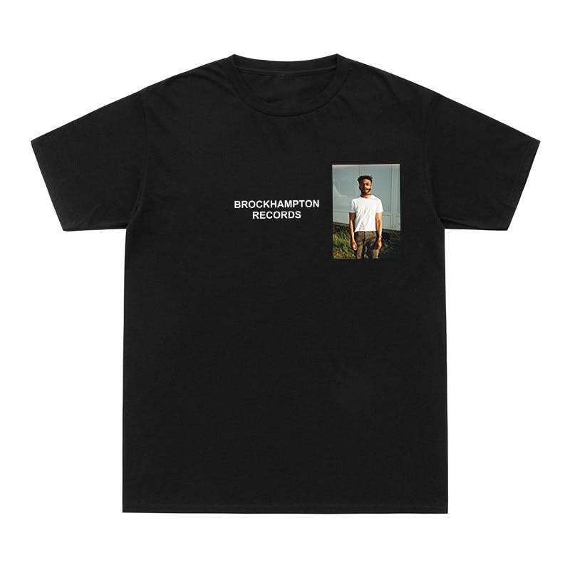 2020 Fashion T Shirt Men Women Brockhampton RECORDS Funny T-Shirts GINGER Take The Odds I'Ll Keep Dreaming Tee Shirt Cotton Tees
