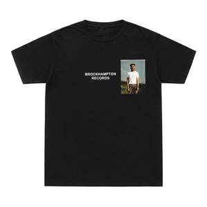 Camiseta a la moda de 2020 para hombre y mujer, camisetas divertidas de Brockhampton, camisetas de algodón con inscripción GINGER Take The Odds i Keep Dreaming
