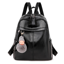 Women's backpack Fashion shoulder bag large capacity women backpack high quality leather school bag for teenage girls backpack