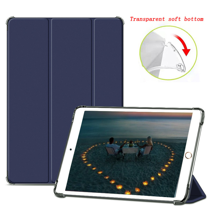 Blue DarkCyan for iPad 2020 Air 4 10 9 inch Airbag Transparent matte soft protection Case For New