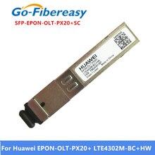 โมดูล SFP Transceiver EPON OLT PX20 + LTE4302M BC + HW EPON SFP เข้ากันได้กับ Huwei และ ZTE EPON การ์ด SC SFP โมดูล