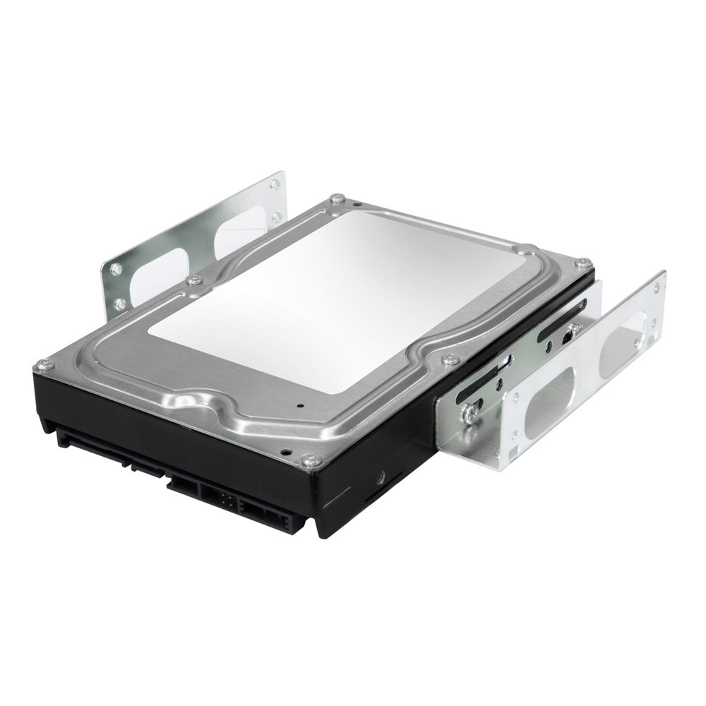 Internal Hard Drive Mounting Kit Convert Any 3.5 Inch HDD SSD Into One 5.25 Inch Drive Bay With Mounting Screws Included