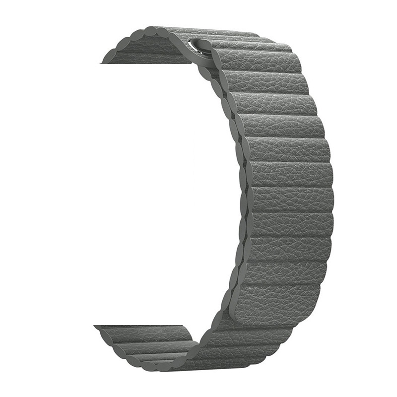 Leather Sports Loop For 40mm 44mm IWO 8 IWO 9 IWO <font><b>12</b></font> <font><b>Smart</b></font> <font><b>watch</b></font> image