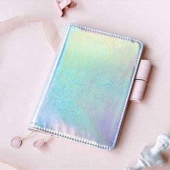 Rosa Thema Hobo Mode Journal Abdeckung Für Einbau Papier Buch A6 Schöne Mädchen Geschenk