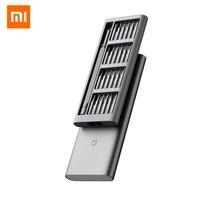 Originale Xiaomi Norma Mijia Cacciavite 24 in 1 di Precisione Kit 60HRC Bit Magnetici Mi Kit di Casa di Alluminio S2 in Acciaio Strumenti di Riparazione set