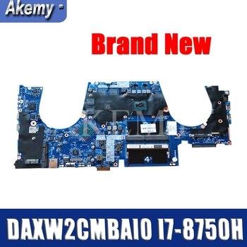 Original FOR HP ZBook 15 G5 motherboard L28700-001 L28701-601 501 DAXW2CMBAI0 I7-8750H SR3YY 100% Test ok