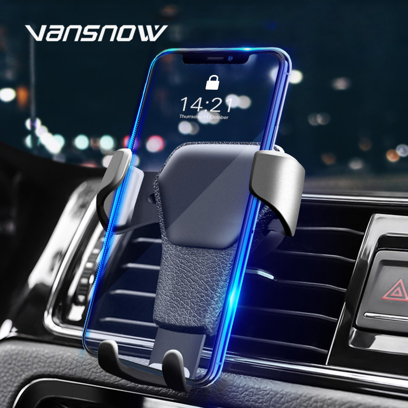 <font><b>Car</b></font> <font><b>Phone</b></font> Holder Gravity <font><b>Phone</b></font> Stand In Air Vent Navi Mount for Smart <font><b>Phone</b></font> <font><b>Accessories</b></font> <font><b>Mobile</b></font> <font><b>Phone</b></font> Holders & Stands for iPhone image