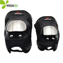 WOSAWE Skateboarding Knee Protector Elbow Protective Gear Suits Snowboard Motorcycle Roller Bike Riding Hockey Ski Pads