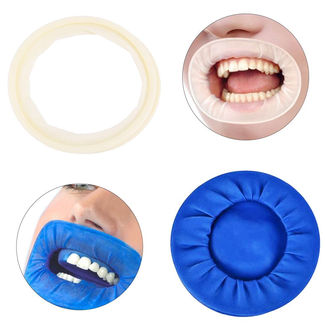 Cheek Expanders Retractor Rubber Dam Mouth Opener Oral Hygiene 1pcs Dental Disposable Rubber Sterile Mouth Opener Oral