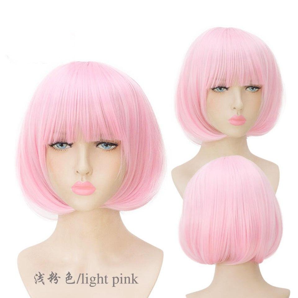 franja lolita cosplay peruca para mulheres cor
