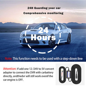 Image 5 - 2,4 zoll Full HD 1080P Auto DVR Fahrzeug Kamera Video Recorder 6 IR LED Nachtsicht 360 Grad Rotation auto Registrator