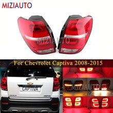 1 Pair Led Rear Tail light For Chevrolet Captiva 2008 2015 Stop Brake Fog Lamp Rear turn signal light Car Parts Accessories