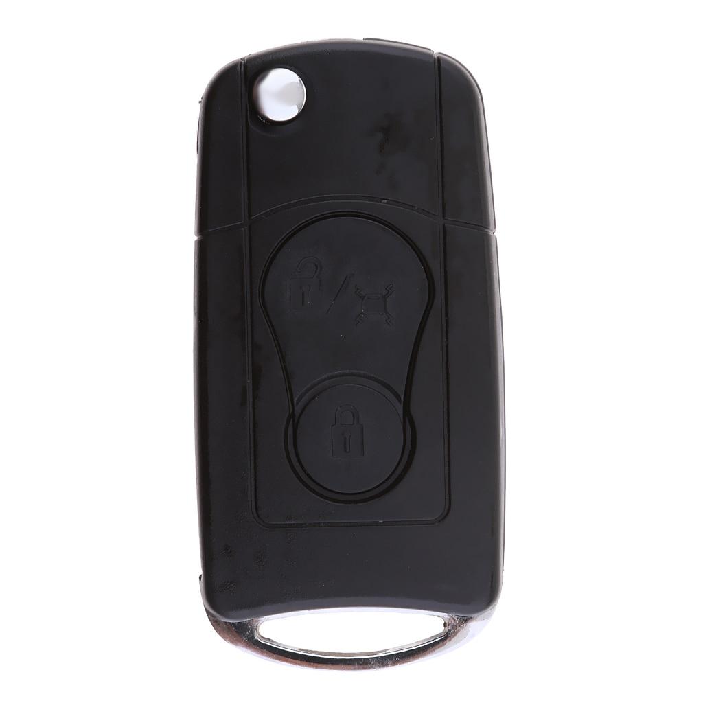 Car Key Case Fob Housing Wear Resistant for Ssangyong Actyon Kyron Rexton