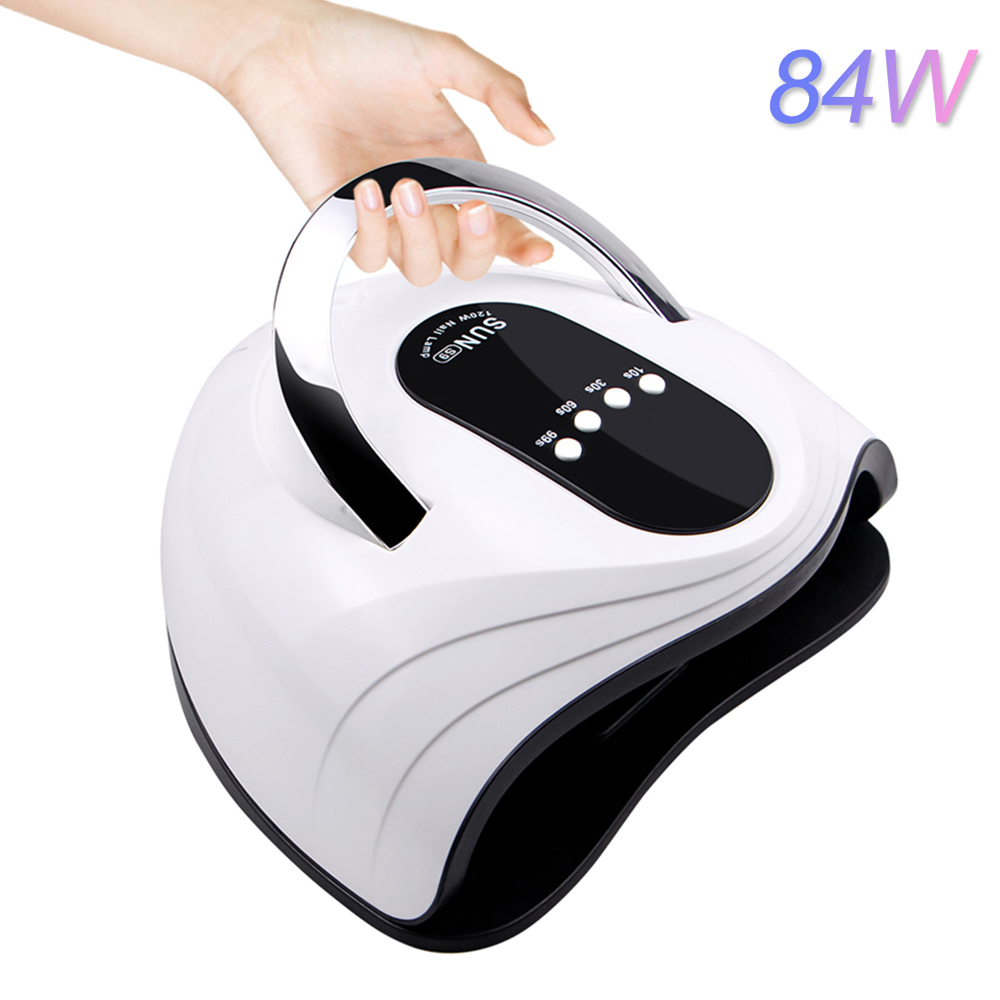 SUNS9 84W UV LED Lamp Nail Dryer Sun Light Timer 10/30/60s For Gel Nail Lamp Drying Lamp Nail Art Tools