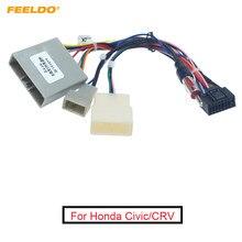 FEELDO 44Pin Wiring Harness Adapter Áudio Rádio Do Carro Para Chevrolet Cruze Malibu Aveo ISO CD/DVD de Instalação de Som Cabo