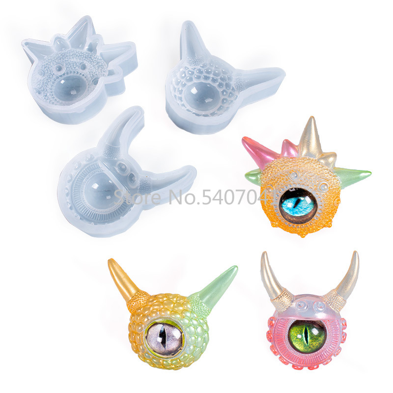 Different Eyes Jewelry Mold DIY Dried Flower Mold UV Resin Jewelry Molds Jewelry Tools Jewelry Accessoriespopular