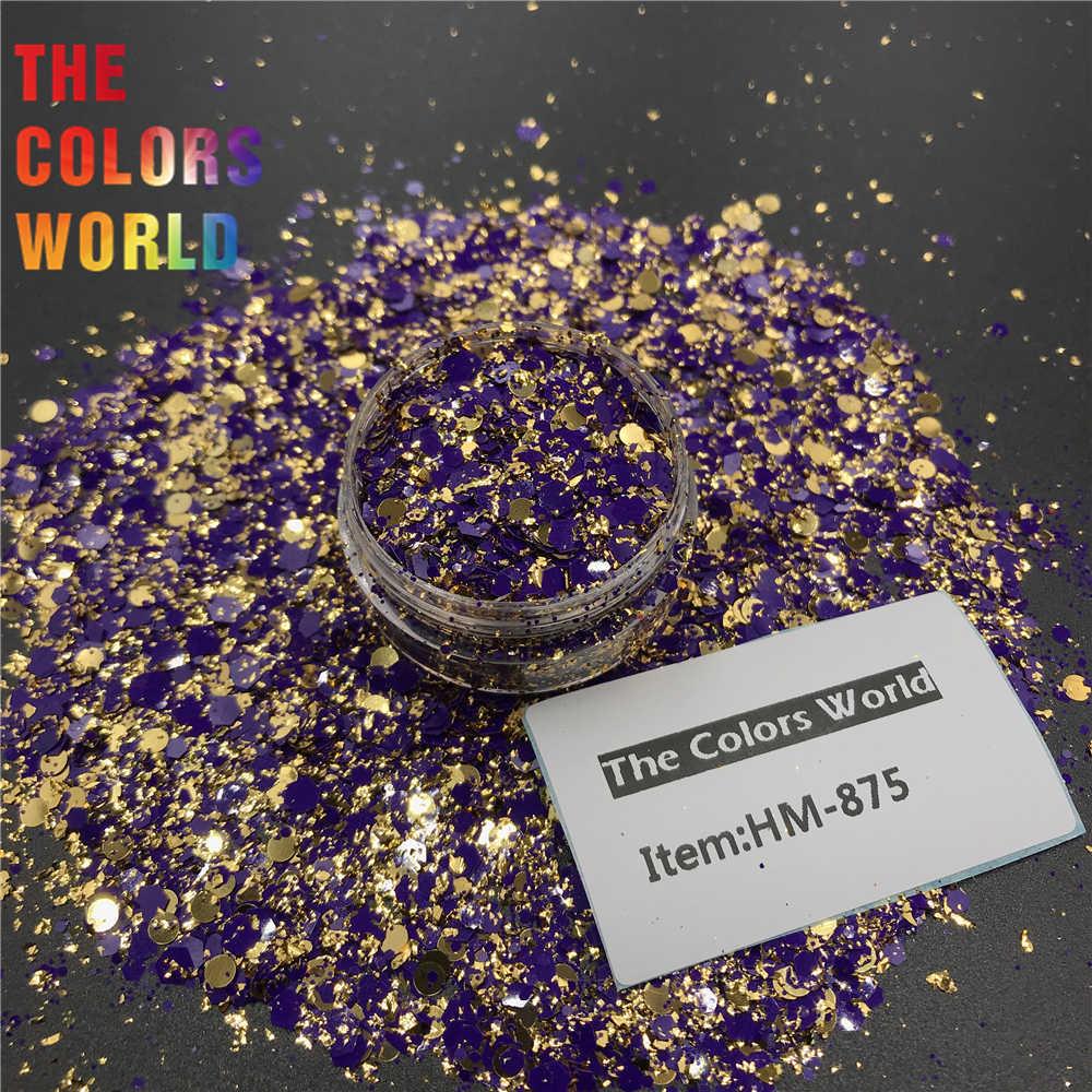 TCT-381 Della Miscela Forma Chunky Glitter Nails Glitter Unghie artistiche Della Decorazione Body art Hennè Tumbler Artigianato Accessori FAI DA TE Del Partito Fornitore