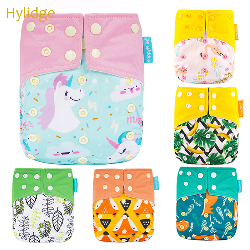 Hylidge Modern Reusable Nappies Baby Cloth Diaper Thick Waterproof Anti-side Leakage Washable Diaper Pants Training Underwear
