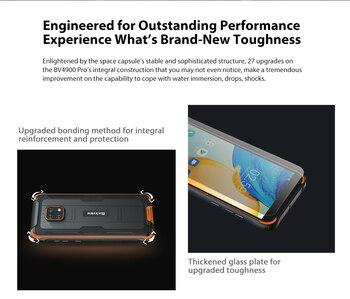 Blackview BV4900 Pro Smartphone 4GB+64GB 5580mAh IP68 Waterproof Android 10 Mobile Phone 5.7'' NFC Cellphones 2