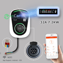 DUOISDA EV Car Charger Wallbox 7kw 220V 240V Type 2 Outlet WIFI Funtcion