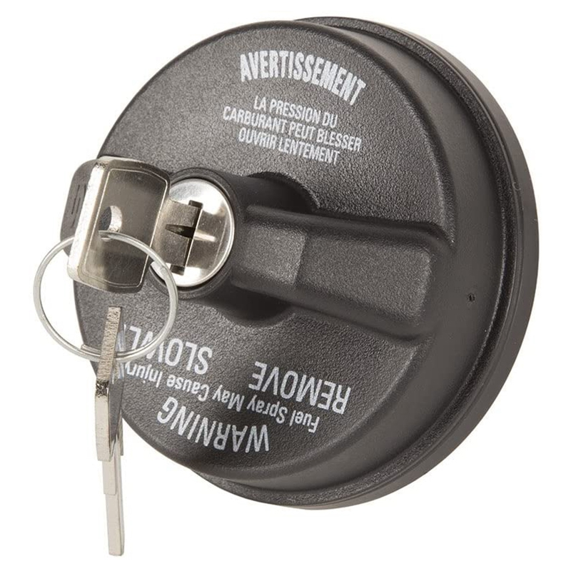 17726.17 Gas Cap, Locking for 2003-Current Jeep Wrangler TJ/LJ/JK/JKU/JL/JLU/JT